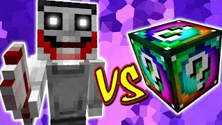 JEFF THE KILLER VS. LUCKY BLOCK SPIRAL (MINECRAFT LUCKY BLOCK CHALLENGE)