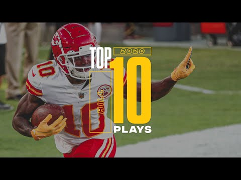 Tyreek Hill's Top 10 Plays from the 2020 Season | Kansas City Chiefs
