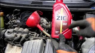 Замена масла в коробке передач МКПП на Daewoo Matiz Дэу Матиз 0,8 механика 2011 года