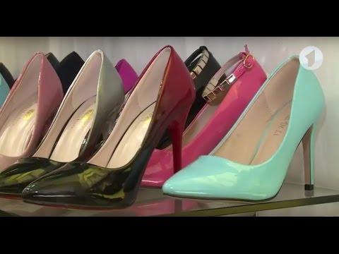 С чем лучше всего носить красные туфли на высоком каблуке