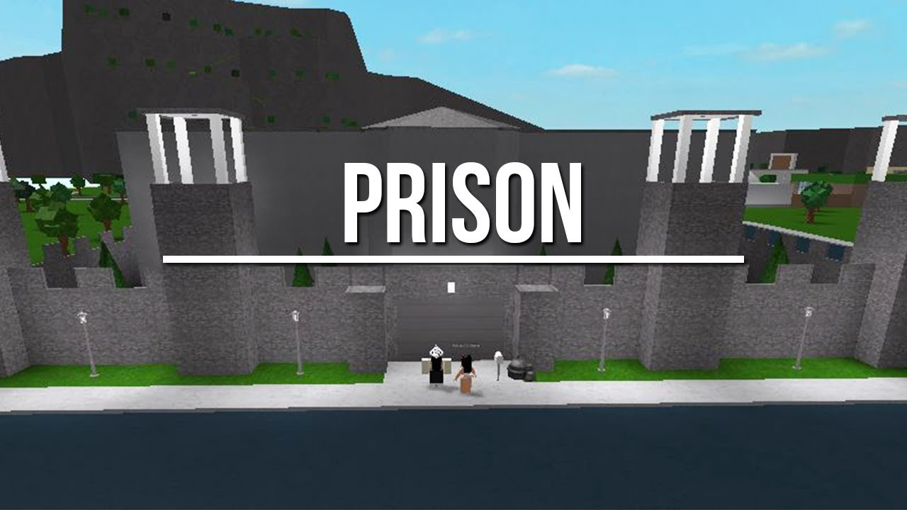 Roblox Welcome To Bloxburg Prison 81k Youtube