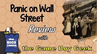 Panic on Wall Street Review - with the Game Boy Geek