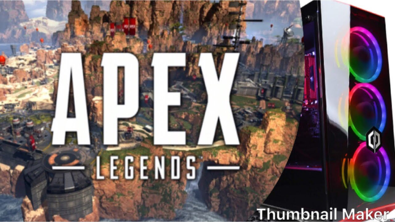 Apex Legends FPS 1060 W/i5 8400 CYBERPOWERPC Gamer Xtreme VR GXiVR8060A5