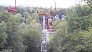 Канатная дорога в парке Нальчик. Cableway in Nalchik Park
