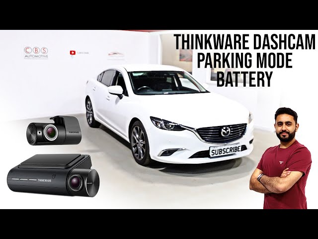 Dual Dash Cam with FULL Parking Mode   Mazda 6 - Thinkware Q800 & iVolt Battery