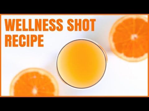 Easy Wellness Shot Recipe / Cold and Flu Drink
