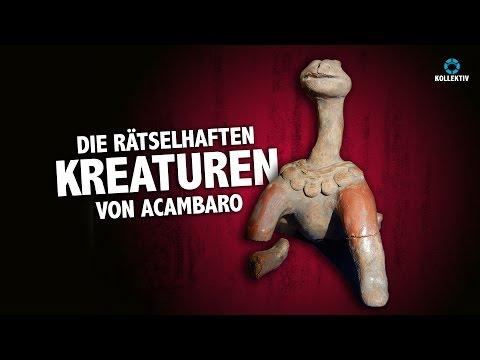 Die rätselhaften Kreaturen von Acambaro - Dinosaurier und Menschen