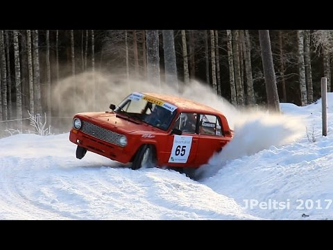 Rallying in Finland, Winter 2017 by JPeltsi