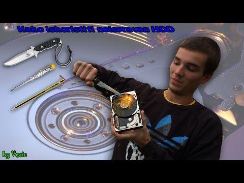 Kako iskoristiti neispravan Hard Disk