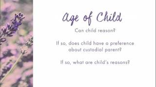 At What Age Does A Child Have a Say in Custody?