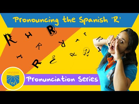 How To Roll Your 'Rs' In Spanish | Spanish Academy TV