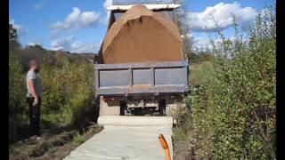 видео Как в деревне построить дорогу