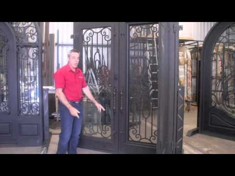 Wrought Iron Shop - IMPORTANT ENTRY DOOR INFORMATION