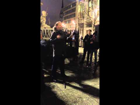 Occupy LSX New Year's Eve: Poet Tony Walsh