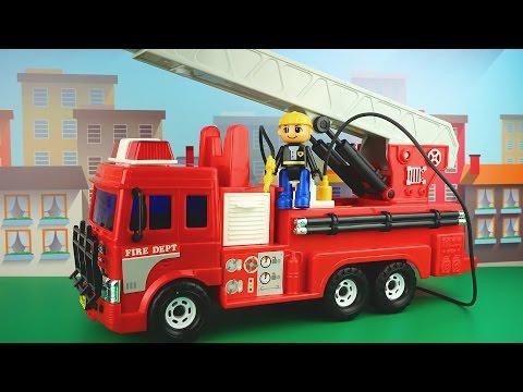 رسوم متحركة حول سيارة إطفاء رسوم متحركة تعليمية للأطفال حول رجال الإطفاء Youtube
