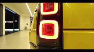 Range Rover 5.0 Supercharged SV in Ligurian Black and Lamborghini Giallo Horus Yellow