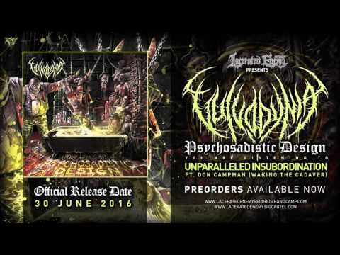 VULVODYNIA - Unparalleled Insubordination / Lacerated Enemy Records 2016