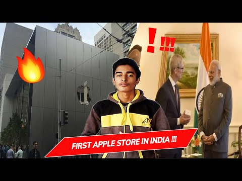#Apple Store in India 😮   Apple Thanks to PM Narendra Modi 🤔   IDC Reports on Apple   Geeky Sharma
