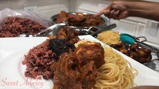 AUTHENTIC GHANA 🇬🇭 WAAKYE RECIPE | GHANA STREET FOOD