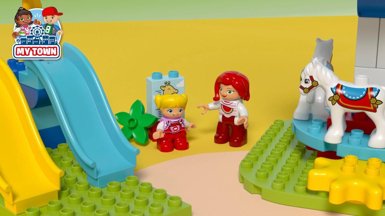 Lego Duplo Town 10841 Fun Family Fair Youtube