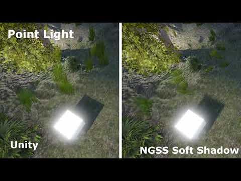 Unity 2017: Unity Shadow vs NGSS Soft Shadow - YouTube