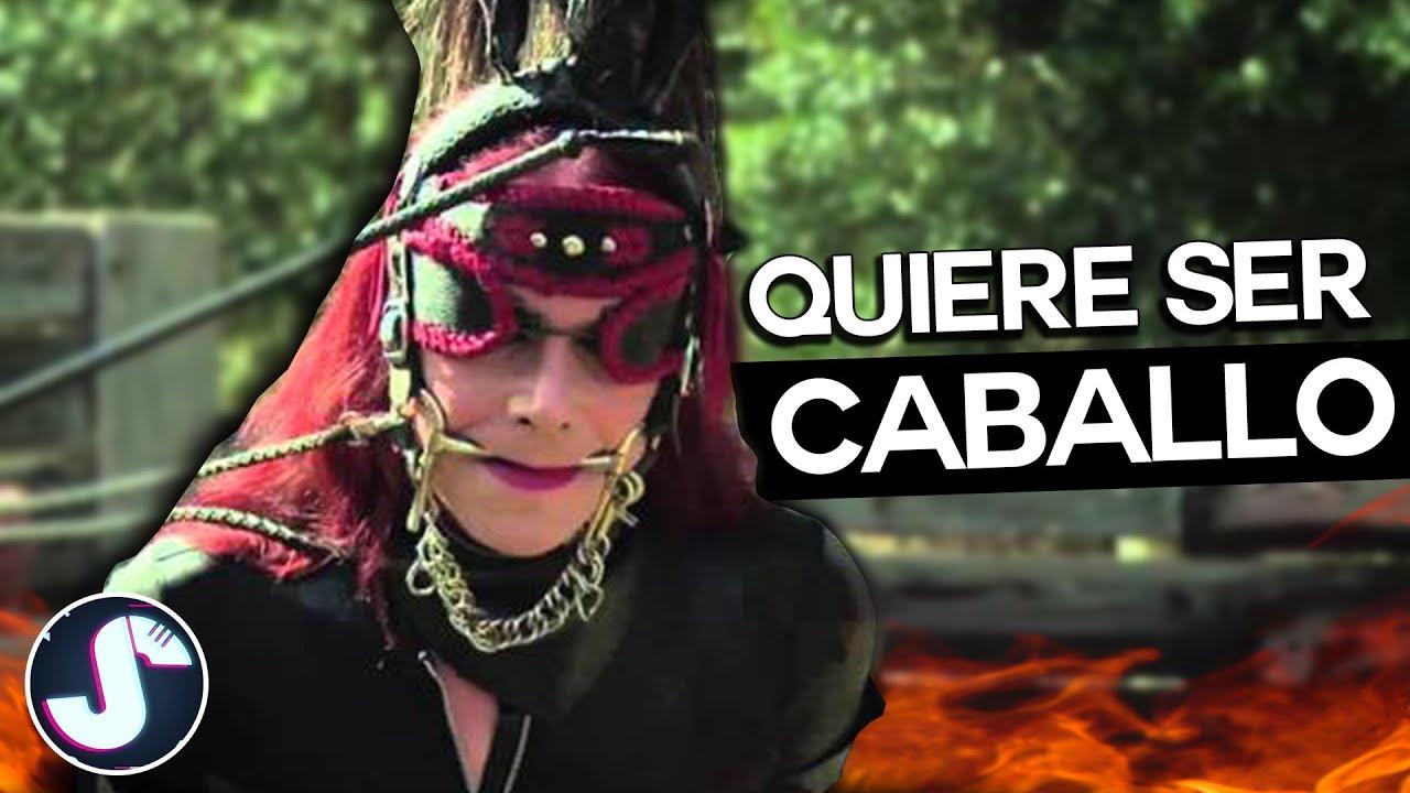 La mujer TRANSEXUAL que ahora quiere ser CABALLO 🙂