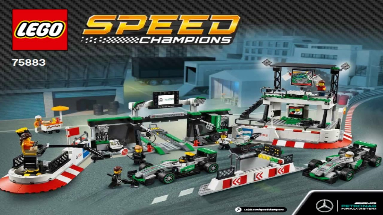 lego speed champions mercedes amg petronas formula one. Black Bedroom Furniture Sets. Home Design Ideas