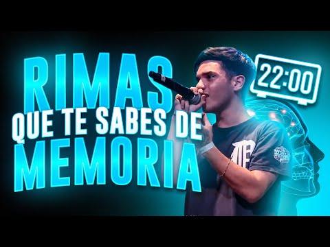 BLON REACCIONA A RIMAS QUE TE SABES DE MEMORIA | ¿YA SON LAS DIEZ? - Blon Doblefilo