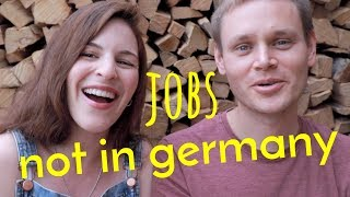 4 Jobs I've NEVER SEEN IN GERMANY (but saw in the USA)