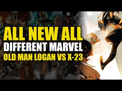 X-23 vs Old Man Logan (Civil War 2 Tie In: All New Wolverine Vol 2: Destiny