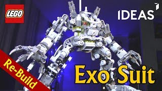 LEGO Ideas 21109 Exo Suit [Пересборка]