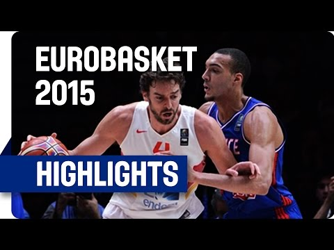 Spain v France - Semi-Final - Game Highlights - EuroBasket 2015