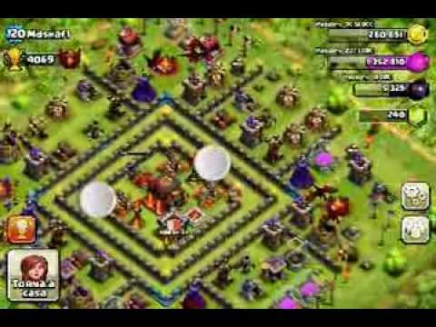 Clash of clans visit jorge yao, kemal and mdshafi