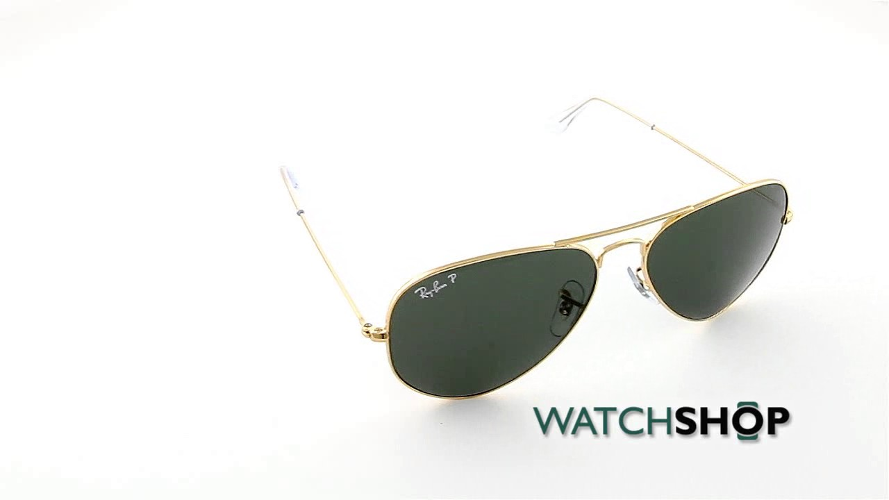 c6626449d0 Ray-Ban Men s Aviator Classic Polarized Sunglasses (RB3025-001 58-58 ...