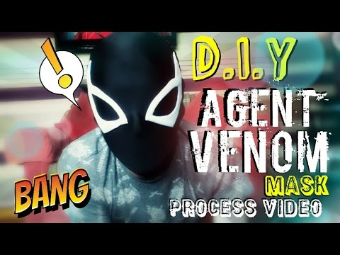 How to Make An Agent Venom Mask | Process Video