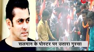 Deshhit: Protest against Bollywood actor Salman Khan's upcoming movie 'Loveratri' in Agra