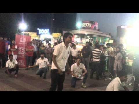 Nukkad natak by students of maharaja college jaipur