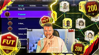 FIFA 21:  KAMPF UM TOP 200 🔥🔥 WEEKEND LEAGUE ENDSPURT