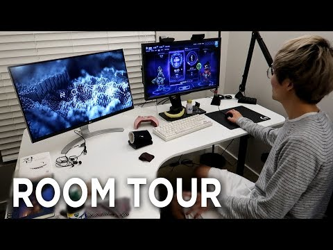 Pro Gamer Room Tour With Jun! Plus Some Guitar Playing At