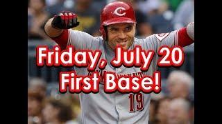 MLB DraftKings Picks Today + FanDuel Picks Tonight 7/20/18