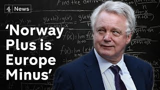 Former Brexit Secretary attacks May's deal