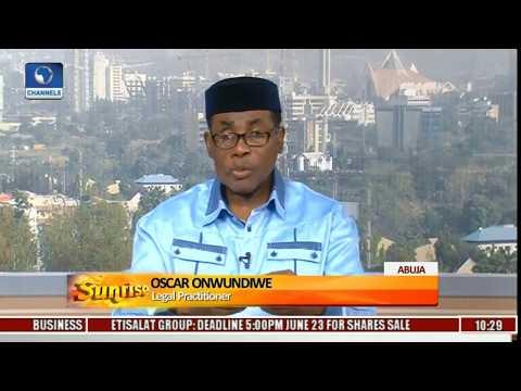 Nigerian Judiciary: Lawyer Decries FG's Handling Of Criminal Prosecution Pt.2