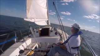 j 35 sailboat single handed sailing