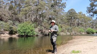 Exploring an Australian river, fishing, coffee and a snake!