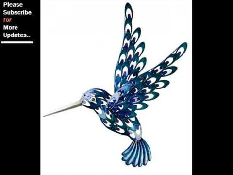 Collection Of Metal Wall Decor Birds | Wall Sculpture Art Ideas