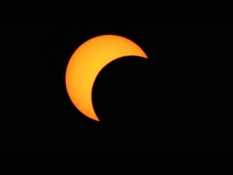 Partial (80%+) Solar Eclipse Timelapse May 20 2012 V11482