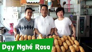 Bánh mì Việt Nam do người nước ngoài làm