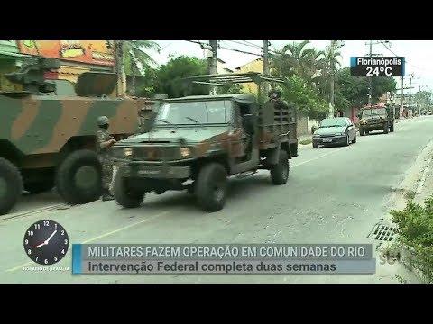 Mesmo com intervenção, população cobra mais segurança no RJ | SBT Brasil (03/03/18)