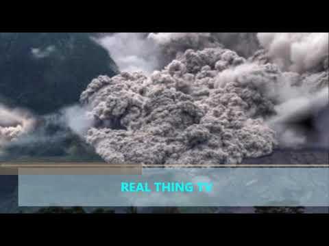 Bali volcano update Mount Sinabung HUGE eruption as Mount Agung rumbles on