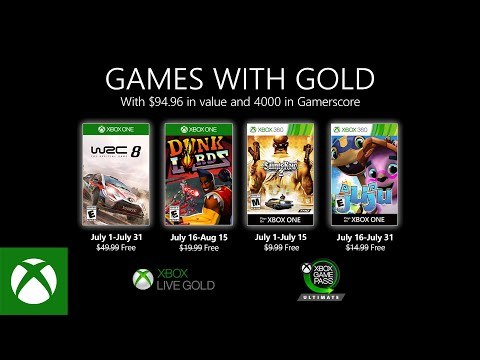 Xbox - July 2020 Games with Gold